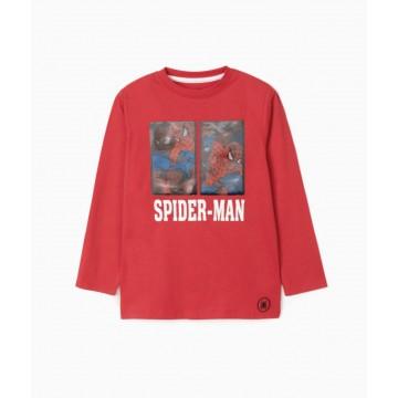 Zippy Μπλούζα Μακρυμάνικη Spiderman - Junior